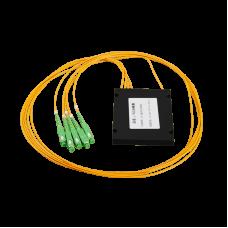 PLC сплитер 1х4 SC/АPC кутия