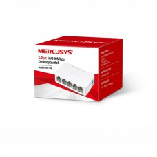 Switch Mercusys MS105, 5p 10/100Mbps + POWER SUPPLY