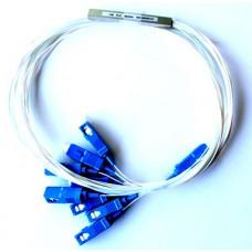 Mini PLC Splitter 1/8 SC/PC