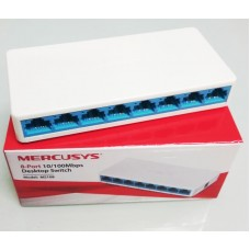 Switch Mercusys MS108, 8-порта 10/100Mbps + ЗАХРАНВАНЕ