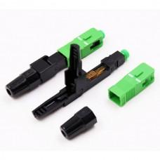 Бърз конектор SC/APC за механичен сплайс за FTTH кабел