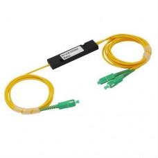 PLC сплитер 1х2 SC/АPC 70:30 кутия