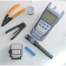 Комплект инструменти за оптичен кабел