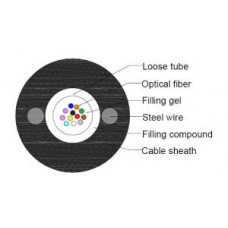 Fiber optic cable GYXTY 12 fibers stronger