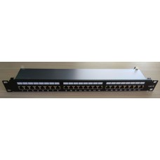 Пач панел FTP Cat.6 24 порта