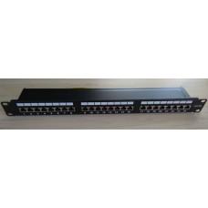 Пач панел FTP Cat.5e 24 порта