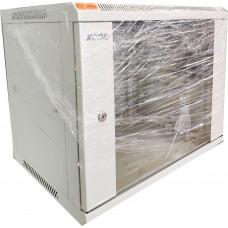 Шкаф 9U 600X450мм W600/D450/H500, RAL7035