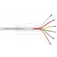 ELAN Алармен  кабел 6x0,22mm CCA