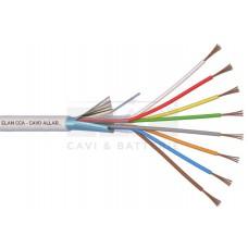 ELAN Алармен  кабел 8x0,22mm CCA екраниран