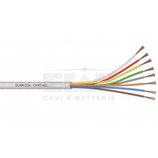 ELAN Алармен  кабел 8x0,22mm CCA