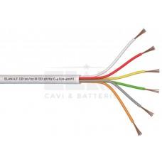 ELAN Алармен  кабел 6x0,22mm Cu